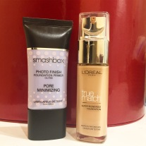 loreal-true-match-and-smashbox-photo-finish-pore-minimising-primer