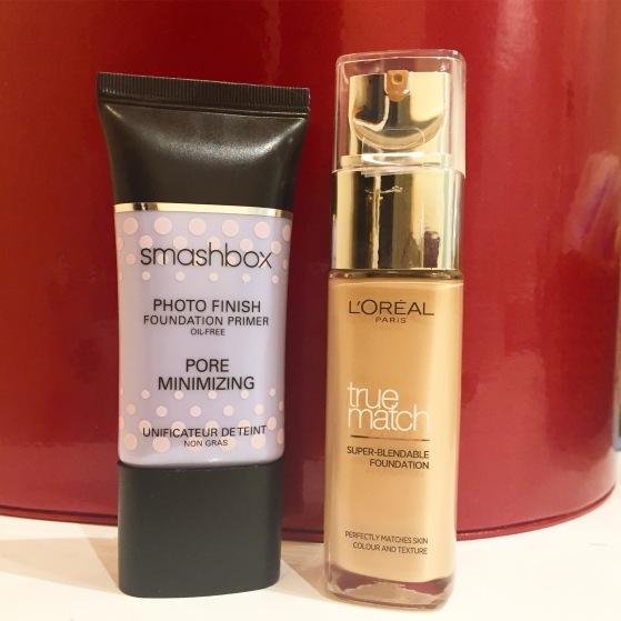 loreal-true-match-and-smashbox-photo-finish-pore-minimising-primer