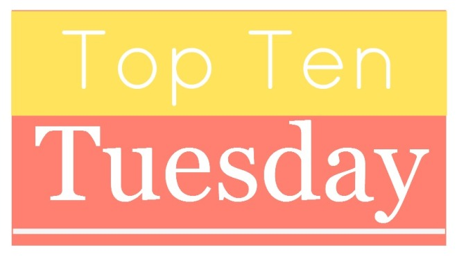 Top Ten Tuesday: Ten Characters who are Male