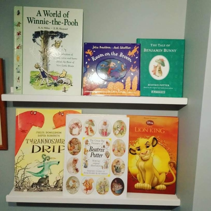 *Blogtober day 10*My Sons Bookshelf – Children's Books.